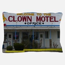 Welcome To The Clown Motel Pillow Case