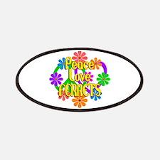 Peace Love Ferrets Patch