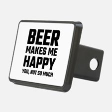Beer Makes Me Happy Hitch Cover