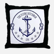 Fly Dutch Throw Pillow