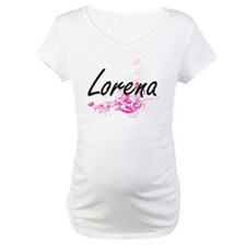 Lorena Artistic Name Design with Shirt