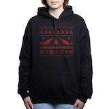 Christmas holiday Hooded Sweatshirt