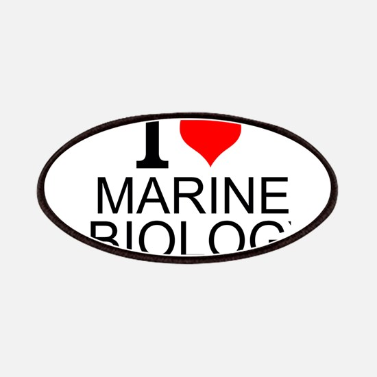 I Love Marine Biology Patch