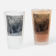 Winter Drinking Glass