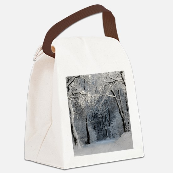 Winter Canvas Lunch Bag