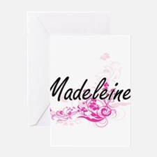 Madeleine Artistic Name Design with Greeting Cards