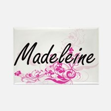 Madeleine Artistic Name Design with Flower Magnets