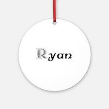Ryan Ornament (Round)