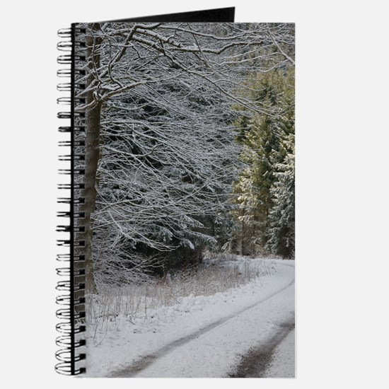 SNOW ON ROAD Journal