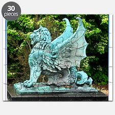 Dragon, art photo, Puzzle