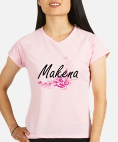 Makena Artistic Name Desig Performance Dry T-Shirt