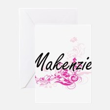 Makenzie Artistic Name Design with Greeting Cards