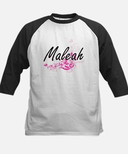 Maleah Artistic Name Design with F Baseball Jersey