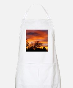 ORANGE SUNSET Apron
