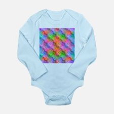 Colorful Wavy Pattern Body Suit