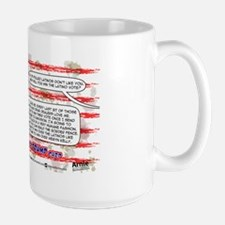 GOP Trump card Large Mug