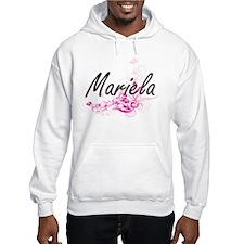 Mariela Artistic Name Design wit Hoodie Sweatshirt