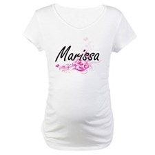 Marissa Artistic Name Design wit Shirt