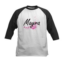 Mayra Artistic Name Design with Fl Baseball Jersey