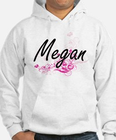 Megan Artistic Name Design with Hoodie