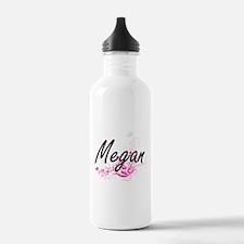 Megan Artistic Name De Water Bottle