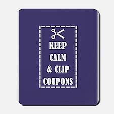 CLIP COUPONS Mousepad