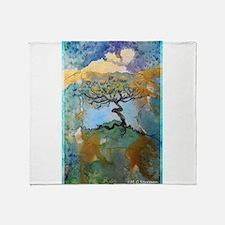 tree ! tree of life, art! Throw Blanket