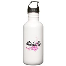 Michelle Artistic Name Water Bottle