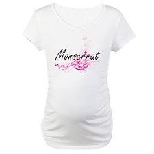 Monserrat Artistic Name Design w Shirt