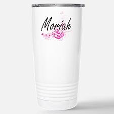 Moriah Artistic Name De Travel Mug