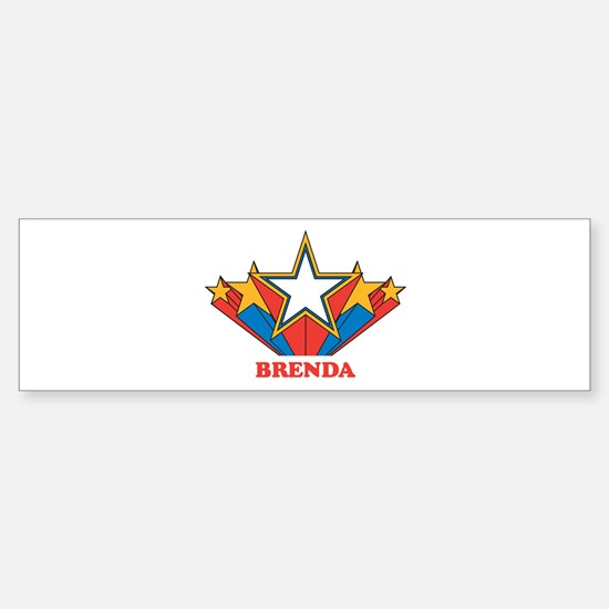 BRENDA superstar Bumper Bumper Bumper Sticker