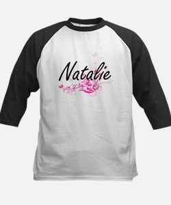 Natalie Artistic Name Design with Baseball Jersey