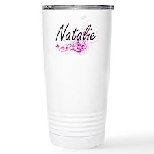 Natalie Artistic Name D Thermos Mug