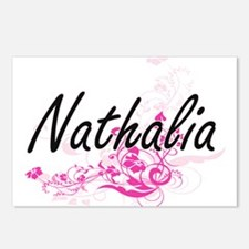 Nathalia Artistic Name De Postcards (Package of 8)