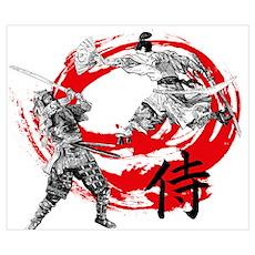 Samurai Warriors Poster