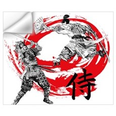 Samurai Warriors Wall Decal