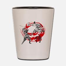 Samurai Warriors Shot Glass