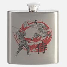 Samurai Warriors Flask