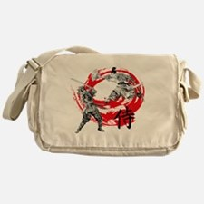 Samurai Warriors Messenger Bag