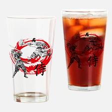 Samurai Warriors Drinking Glass