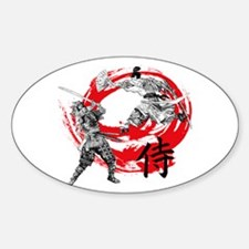 Samurai Warriors Decal