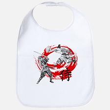 Samurai Warriors Bib
