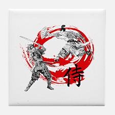 Samurai Warriors Tile Coaster