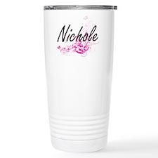 Nichole Artistic Name D Travel Mug