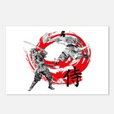 Samurai Warriors Postcards (Package of 8)