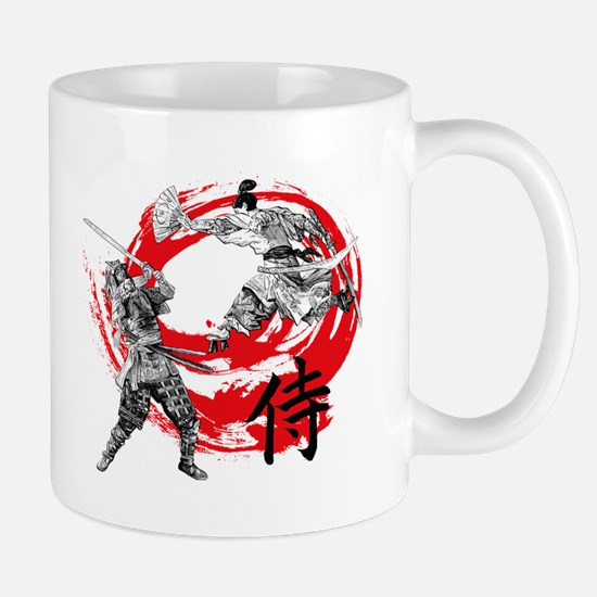 Samurai Warriors Mugs