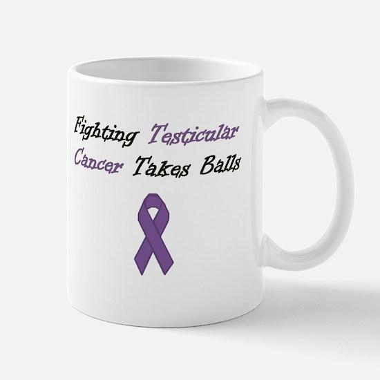 Testicular Cancer Awareness Mugs