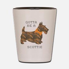 Gotta Be A Scottie Autumn Shot Glass