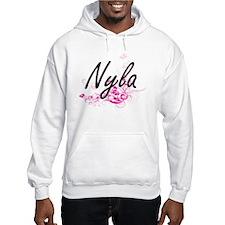 Nyla Artistic Name Design with F Hoodie Sweatshirt