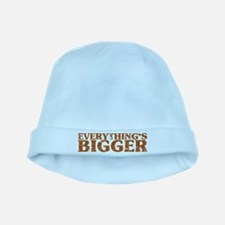 Everything's Bigger in Texas baby hat